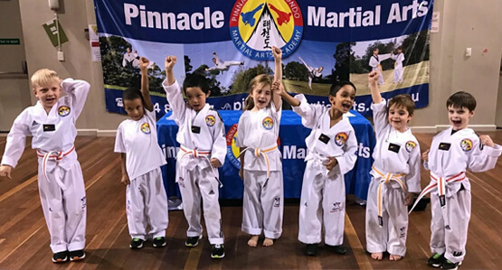 kids martial arts marrickvile